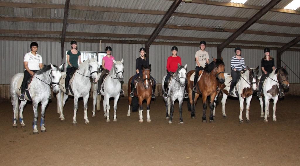 rijles riding lesson BLOK