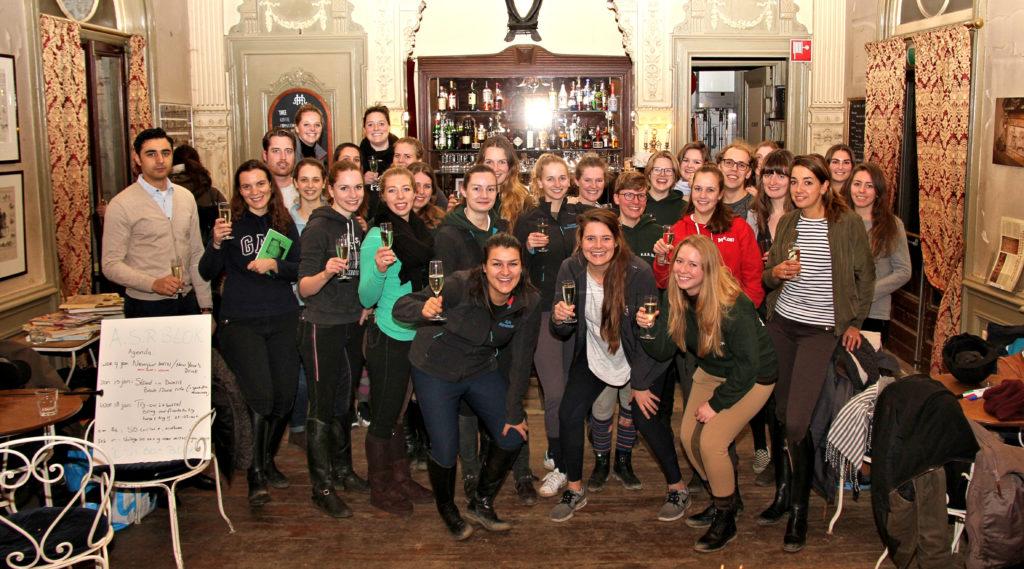 borrel drinks A.S.R. BLOK studentenruitervereniging